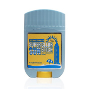 May NewYork Super Clear Pure Sun Stick SPF50+ PA++++ - Convenient Stick Type Sunscreen Defence Against UV Rays and Sunburn - Water and Sweat Proof / Easy Glide on Skin