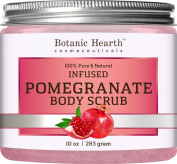 Botanic Hearth Super Pomegranate Infused Body Scrub, Packed with Antioxidant for Radiant Youthful Looking Skin, 300ml