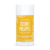 Schmidt's Natural Deodorant - Coconut Pineapple 100ml Sensitive Skin Stick; Aluminium-Free Odour Protection & Wetness Relief