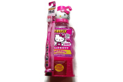 Firefly Hello Kitty Anticavity Fluoride Rinse, Toothbrush and Cup bundle, 470ml