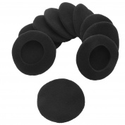 Sunmns 5 Pairs Foam Earpads Ear Pad Cushion Cover for Sony MDR-IF240R, MDR-NC6, MDR-G45LP/ Plantronics PLNAUDIO478/ Logitech H600/ Koss CS100 Headphone, 5.9cm