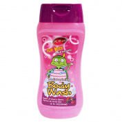 Purest Kids Moisturising Body Wash With Scent Of Cherry Berry