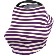 Creation Core 3 in 1 Nursing Breastfeeding Cover Baby Car Seat Cover Canopy Stretchy Carseat Canopy Grocery Cart Cover
