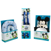Disney Mickey Mouse Baby Travel Essentials Bundle, Blue