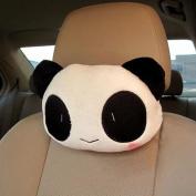 YRD TECH Car Accessory Seat Head Neck Emoji Smiley Shy Cushion Pillow Toy Gift