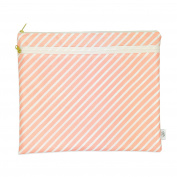 Wet + Dry Portfolio - Waterproof Cloth Nappy Wet Bag with Dry Pocket - Swimsuits + Travel, Nappies + Feeding On-the-Go - Made in USA