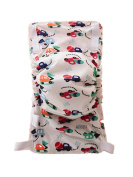Voberry Reusable Baby Infant Printed Cloth Nappies Washable Fillet Nappy