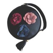 Aurorax Women Women Fashion Handbag Shoulder Stereo Flowers Bag