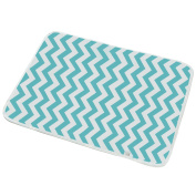"Portable Nappy Changing Pad - V-Fyee Reusable Waterproof Sheet Crib Mattress Mat for Stroller - Baby Changing Mat for Home and Travel - M Size 19.6""x27.5"""