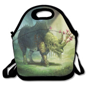 Magic Rhinoceros Extra Large Gourmet Lunch Tote Food Bag