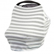 Baby Car Seat Cover Canopy,Fullfun Multi-Use Stretchy Nursing Breastfeeding Cover Scarf