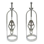 Metal Breasts Cage Clover Nipple Clamps