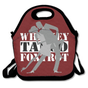 Whiskey Tango Foxtrot Multifunctional Lunch Tote Bag Carry Box