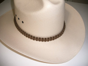 RedVex Paracord Hat Band - Cowboy Hat Band - Coyote Brown