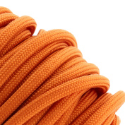 Burnt Orange 550 Type III Paracord 30m by Jig Pro Shop - Made in the USA