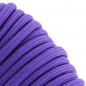 Purple 550 Type III Paracord 30m by Jig Pro Shop - Made in the USA