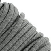 Grey 550 Type III Paracord 30m by Jig Pro Shop - Made in the USA