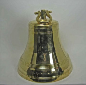 Solid Brass Bell 60cm - Huge - Polished Brass Finish NEW