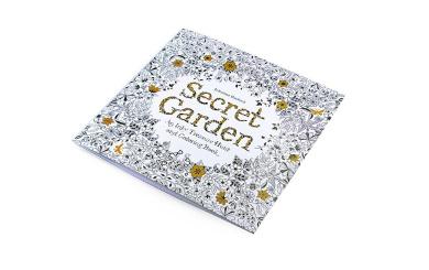 Secret Garden:Colouring Book for Kids & Parents Stress Relieving