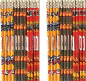 Disney Cars 3 Authentic Licenced 24 Wood Pencils Pack