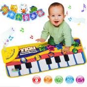 Baby Music Carpet Baby Music Mat Educational Baby Kid Child Piano Music Plat Mat
