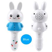 Lanlan Cute Rabbit Sticks Toy with Flashing & Music Handheld Glow Music Stick Educational Toy Gift for Kids