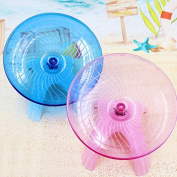 VIPASNAM-Flying saucer exercise wheel hamster gerbil cage toy 12cm Small spinner for pet