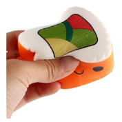 Squeeze Toy, Ankola Sushi Scented Slow Rising Fun Toy Relieve Stress Cell Phone Pendant Cure Gift