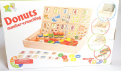 Genius Art Wooden Colour and Shape Geometric Sorting Puzzle Board Educational Toys