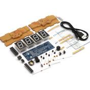 KKmoon 4-digit DIY Digital LED Clock Kit Light Control Temperature Display Transparent Case Red