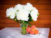 Peaches & Peonies Premium Fragrance Oil, 120ml Bottle
