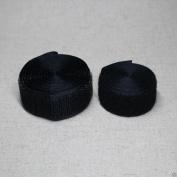 1yard Hook and loop sew on FASTENER TAPE 25mm wide Black