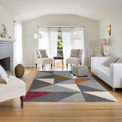 Balta Rugs Orleans Grey/Yellow Area Rug