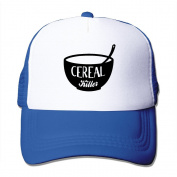 Cereal Killer Printed Hat Summer Mesh Cap With Adjustable Snapback Strap With 5 Colours