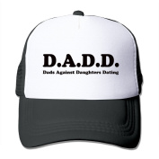 D.A.D.D. Dads Against Daughters Datingprinted Hat Summer Mesh Cap With Adjustable Snapback Strap With 5 Colours