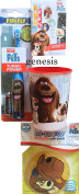 The Secret Life Of Pets Children's Travel Dental Care Powered Toothbrush, Rinse Cup, Bandages, & Boo Boo Buddy