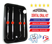 Dental Tooth Scraper/Mirror/Scaler Tartar Calculus Plaque Remover Beautytrack by BeautyTrack Ltd