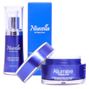 Top Anti-Ageing Skin Care Products Allumiere Cream & Niuvella Serum (Pack of 2) – Skin Care Therapy for Injection Free Anti-Ageing & Wrinkle