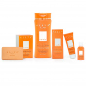 Authentic Aliya Paris Carotiq Complete Whitening Set - 4pc Set Includes Soap, Lotion, Cream and Serum