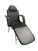 3 Fold Portable Tattoo Facial Bed Beauty Salon Massage Table Chair w/Free Carrying Case