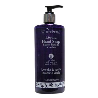 White Pearl Liquid Hand Wash With Lavender & Vanilla(466ml)