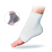 Feet care Moisturising gel heel socks soft heel sleeves Cracked Foot Skin Care Protector foot care tool pedicure socks 1pair