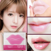 Coerni 10 Pcs Professional Crystal Lip Care Mask Anti-Ageing Lip Film Moisturising Exfoliating Lips Care Beauty Essentials .