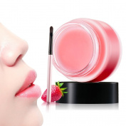 Hisight Moisturising Sleeping Lip Mask Lip Film Balm Exfoliating Lip Scrub Lip Care Beauty Makeup Accessories ,Best Solution For Chapped And Cracked Lips