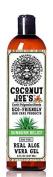 Real Aloe Vera Gel by Coconut Joe's | Fast Sunburn Relief, Pure Aloe, Alcohol-Free, 240ml bottle