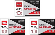30 Feather Fhs-10 Hi-Stainless Blades