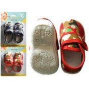 FamilyMaid Print Baby Shoes with Mushroom Sole