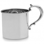 CLASSIC Sterling Silver LUXE BABY CUP by Empire Silver -