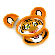 Kids Build-A-Meal Plate Set - Tiger