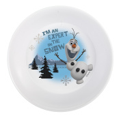 "Disney Frozen Olaf ""I'm An Expert On The Snow!"" BPA-Free Plastic Bowl"
